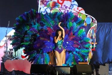 """Katy """"pavo real"""" Perry conquista a más de uno en el Rock in Rio"""