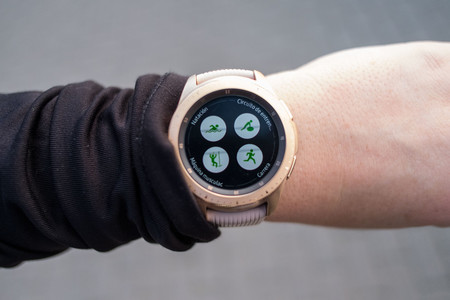 Samsung Galaxy Watch App Entrenos