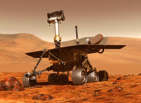 Rover Spirit en Marte