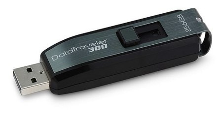 Kingston DataTraveler 300, hasta 256 GB en una memoria USB