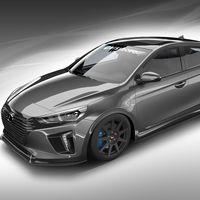 Hyundai HyperEconiq Ioniq, la cara más brutal del híbrido se presentará en el SEMA