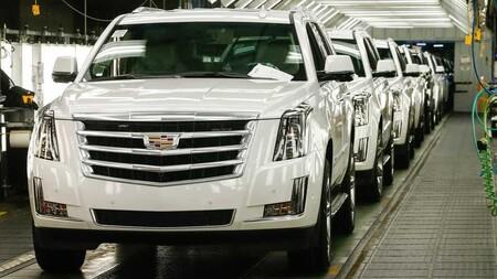 Cadillac Escalade Assembly Line
