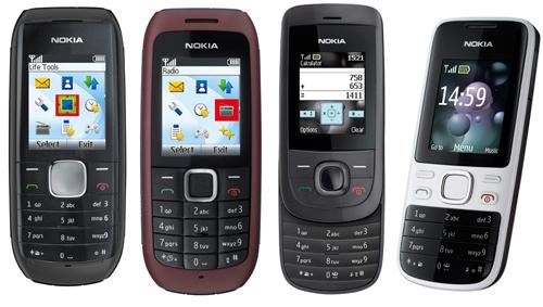 Nokia1616,1800,2220slidey2690,paramercadosemergentes