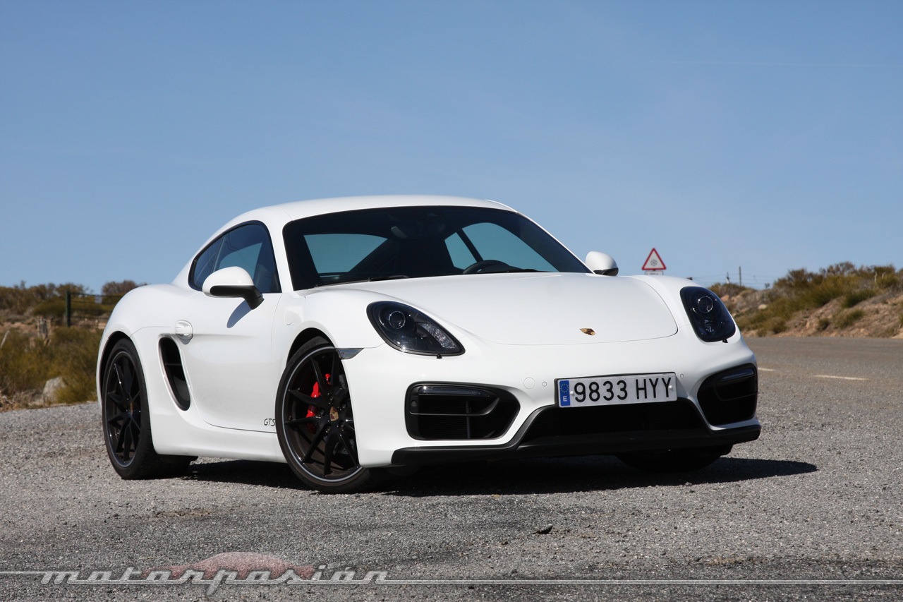 Porsche Cayman GTS (prueba)