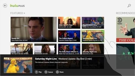 Hulu también estará en Windows 8 el día 26: ¿quién más falta?