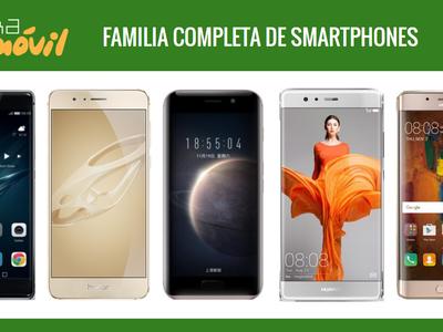 Honor Magic, así queda dentro del catálogo completo de móviles Huawei