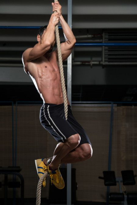Guía Crossfit (XXVII): Rope climb o escalada en cuerda