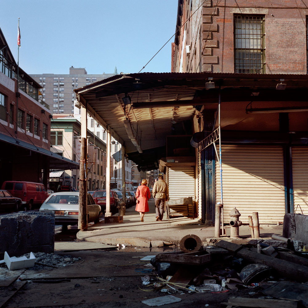 South St At Beekman New York City 1984