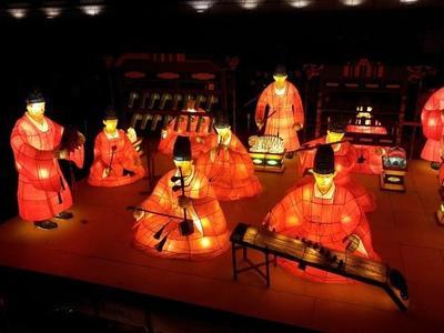 Decoración de Navidad de estilo oriental
