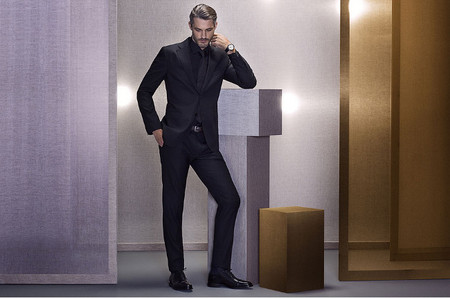 Massimo Dutti Lookbook Noviembre total black