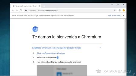 Chromium Ejecutado
