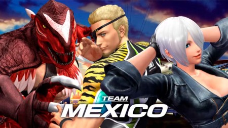 The King of Fighters XIV contará con su equipo de México