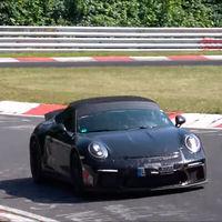 ¡Cazado! El Porsche 911 Speedster ya se está entrenando en Nürburgring para lucir músculo