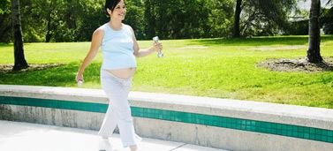 Ejercicio durante el embarazo: caminar