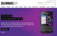 Éxito inicial de ventas del BlackBerry Q10, la gente quiere teclado físico