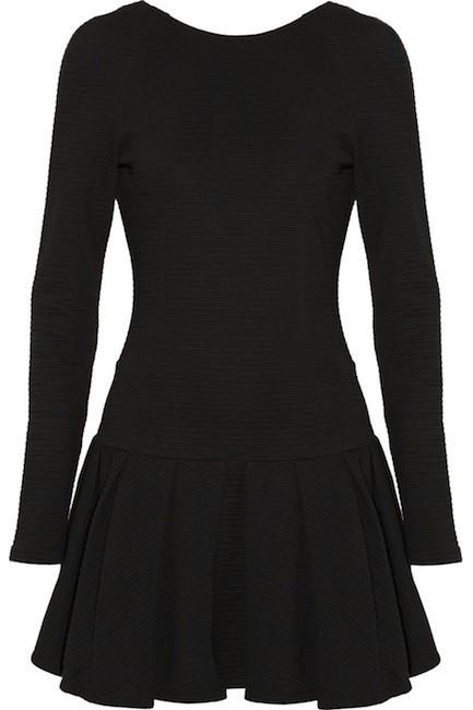 vestido negro Kenzo