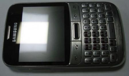 Salen a la luz imágenes del Samsung GT-B7810, con teclado QWERTY físico y Android 4.0