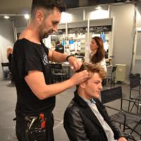 Sebastian Sauve sala maquillaje Mercedes-Benz Fashion Week Madrid Otoño-Invierno 2014/2015