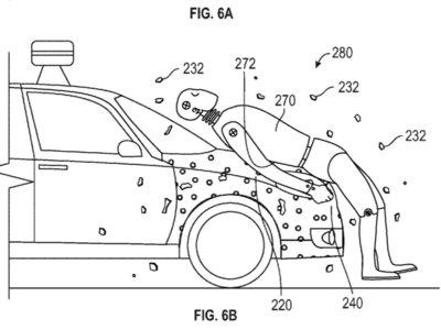 La solución de Google a los atropellos es atrapar peatones con un capó pegajoso