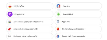 Cómo saber los datos que Google recopila sobre ti para mostrarte anuncios desde el móvil