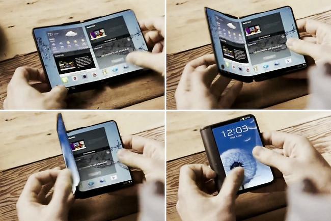 Samsung prepara dos teléfonos flexibles para 2017: el teléfono que se convierte en tablet