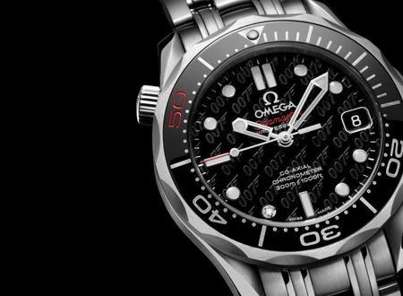 Omega lanza el Seamaster edición limitada 50 aniversario James Bond 007