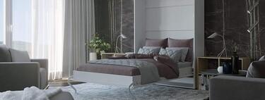 11 camas de matrimonio abatibles, plegables y con cajones y estantes para ahorrar espacio