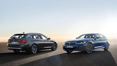Nuevo BMW Serie 5: con versiones mild hybrid, dos híbridos enchufables y una completa dotación tecnológica bajo un diseño renovado