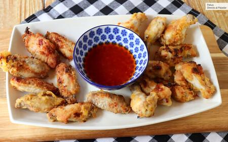 alitas de pollo fritas a la vietnamita