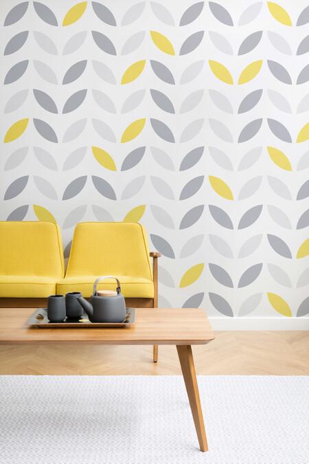 Ultimate grey e illuminating: los colores de 2021 llegan a nuestras paredes a través del papel pintado