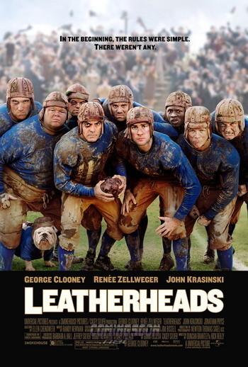 Póster de 'Leatherheads', de George Clooney