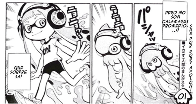anime de splatoon