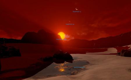 """La NASA estrena una """"oficina de turismo"""" virtual para mostrar cómo sería andar por seis exoplanetas"""