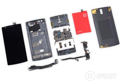 El OnePlus One destripado, su reparabilidad es aceptable