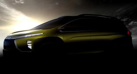Mitsubishi Xm Concept Teaser
