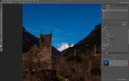 Capa Fondo Adobe Photoshop