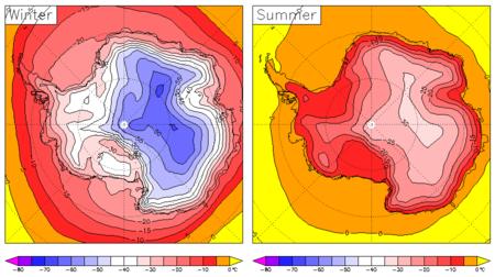 Antarctic Surface Temperature