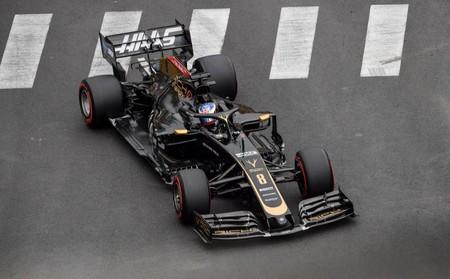 Grosjean Monaco F1 2019