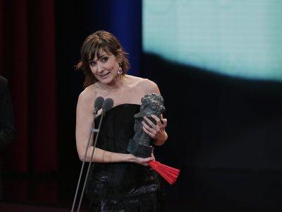 Nathalie Poza, ganadora del Goya 2018 por 'No sé decir adiós'