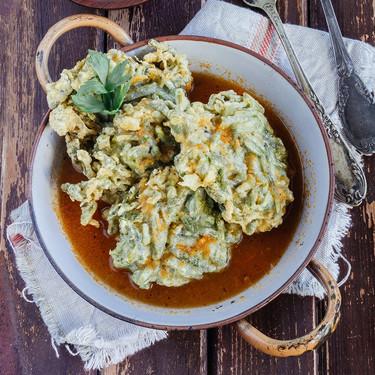 Receta de pastelitos fritos de judías verdes: una manera divertida de cocinar esta verdura