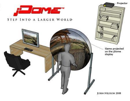 jDome, un cine Imax en casa para tus juegos