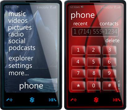 Ya hay rastros del Zune Phone que posiblemente se presente en Barcelona
