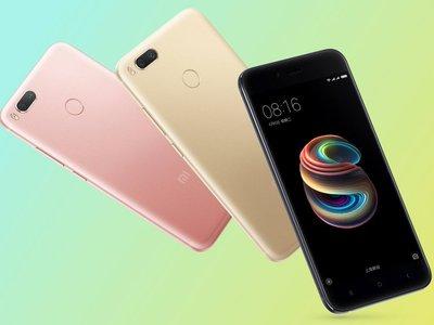 Xiaomi Mi 5X: doble cámara y modo Retrato para una nueva gama media metálica