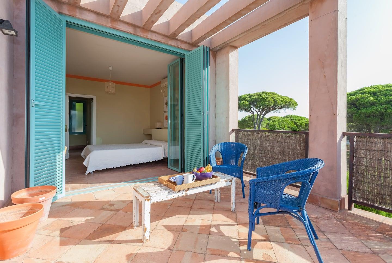 Casa para seis huéspedes en Cabo Roche, Cádiz.