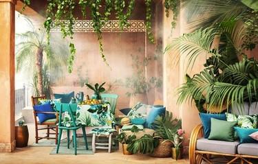 Si no puedes viajar al Caribe lo que sí puedes es decorar tu casa con lo nuevo de H&M Home