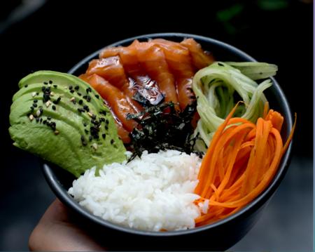 Bowl Salmon