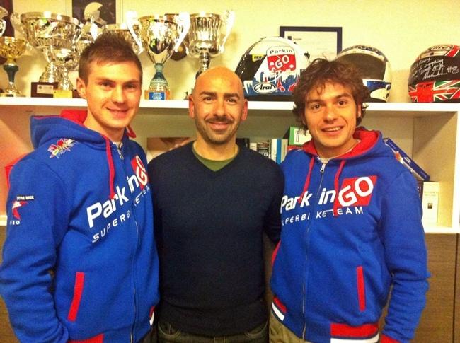 Christian Iddon y Roberto Rolfo