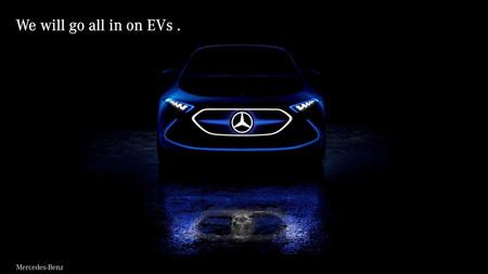 Mercedes-Benz también se pasa al lado verde: todos sus coches serán eléctricos o híbridos a partir de 2022
