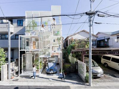 La casa que es casi totalmente transparente y otros hitos habitacionales