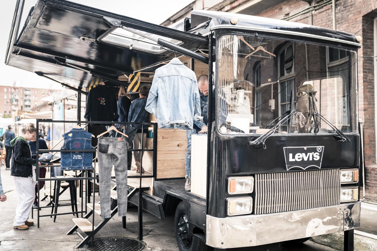 Levi's Tailor Shop on Tour
